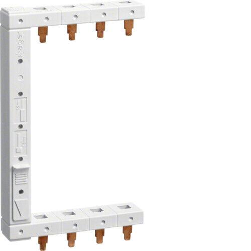 Hager KCF663L 3+N 2reihig Phasenschiene links vertikal