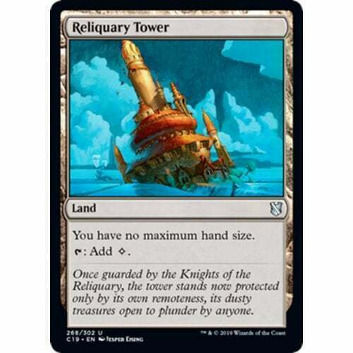 NM Magic the Gathering Commander//m19//m13 MTG 1x RELIQUARY TOWER