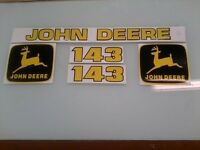 John Deere 143 Loader Decals