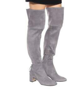 92b076796e5  650 New TORY BURCH Over The Knee LAILA OTK Grey Carbon STRETCH ...