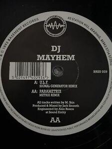 DJ MAYHEM   U.L.F. - PARAMETRIX / Basement Records