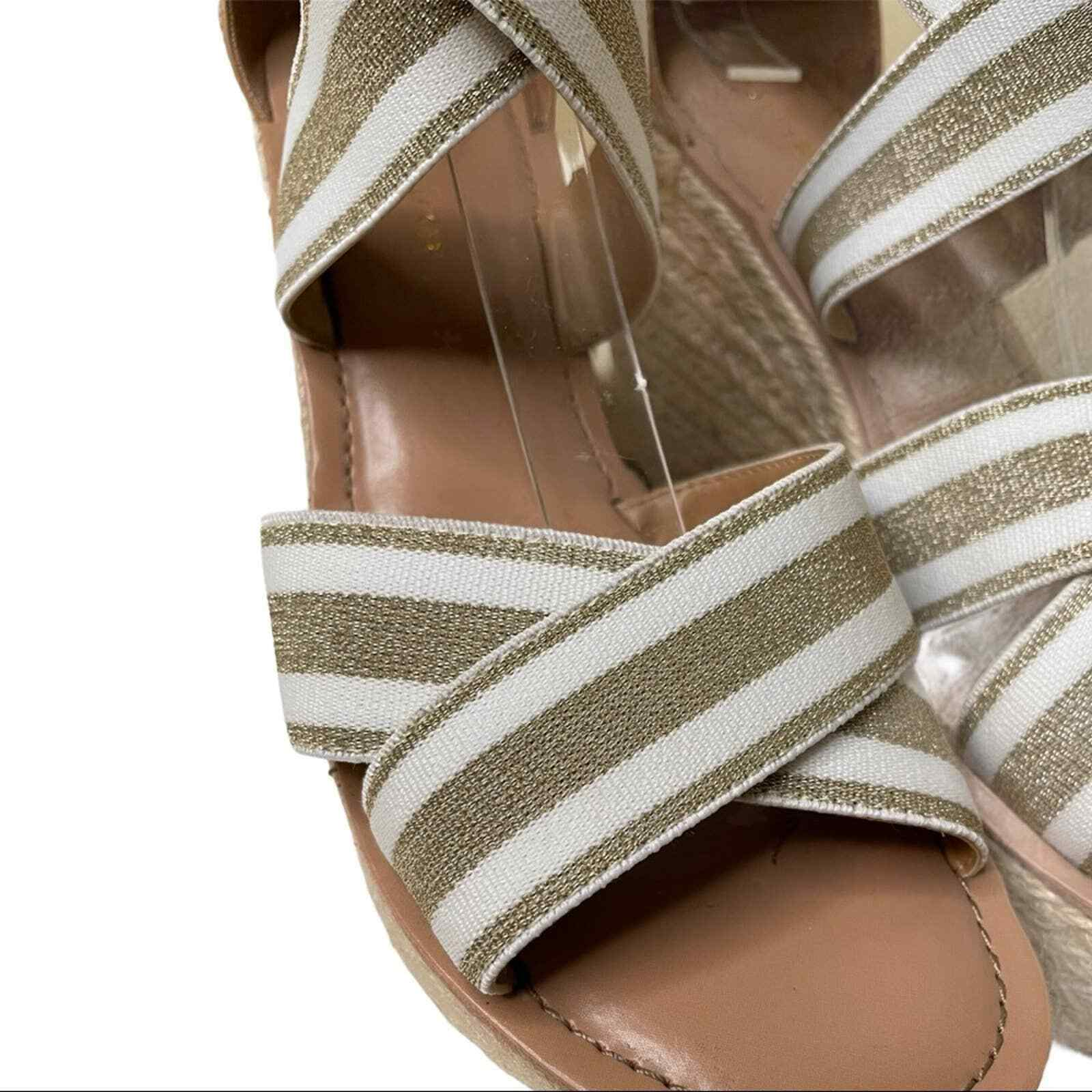 Tommy Hilfiger Theia Wedges Size 8.5 - image 5