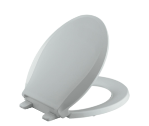 Awesome Details About Kohler Slow Soft Close Round Closed Front Toilet Seat Cover Lid Grey Hardware Dailytribune Chair Design For Home Dailytribuneorg
