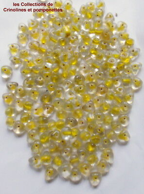 Lot 500-100 STRASS THERMOCOLLANT SS4 1,5mm VERT CITRON Cristal Hotfix Diamant