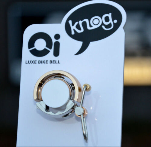Knog oi Luxe Annulaire Design Vélo Sonnette Small 22,2 mm Ver Couleurs Neuf!