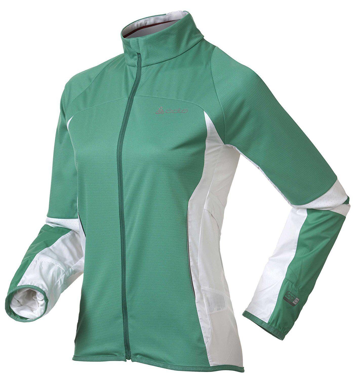 ODLO Mistra 346941 [TG. XS M XL] corsa da donna Giacca Jogging Nuovo