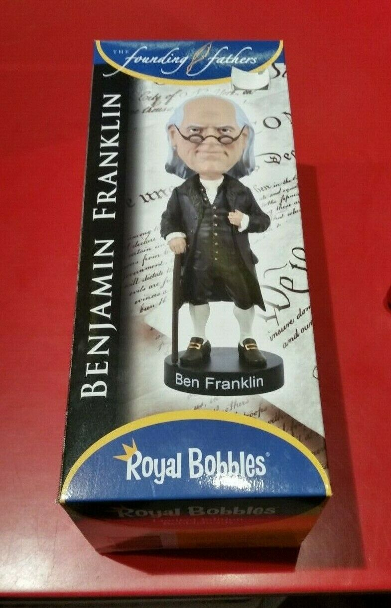 Royal Bobbles Limited Edition bobbleheads - BENJAMIN FRANKLIN