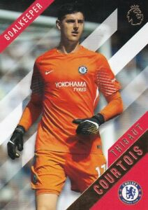 2017-18-Topps-Premier-League-or-Football-Cartes-a-Collectionner-30-Thibaut