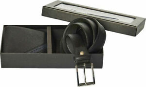 Set-Young-Coveri-Men-039-s-Wallet-Black-Blue-Credit-Card-Holder-Belt