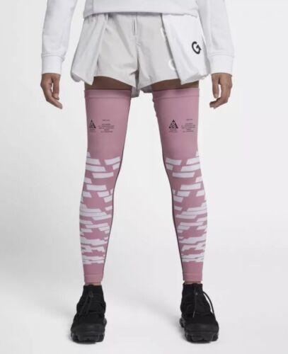NIKE Women NikeLab ACG Leg Sleeves Elemental Pink AJ3851 678 XS//S New