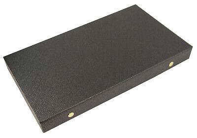 Black Leatherette Ring Display Box for 72 Rings BD83-2J//72E Ring Storage Box