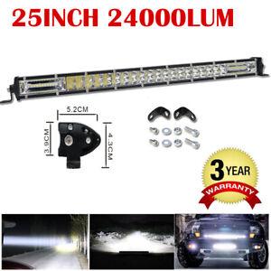 42 pulgadas 240W LED Luz de Trabajo Barra REFLECTOR//inundación para Jeep SUV Ute Off Road Truck coche