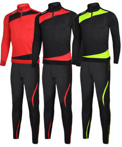 Kids-Men-Football-Training-Suit-Set-Long-Sleeve-Sports-Uniform-Soccer-Jersey