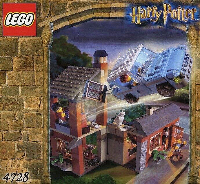 LEGO Harry Potter  Fuga da Privet Drive   4728 RARO 100% GARANZIA COMPLETA