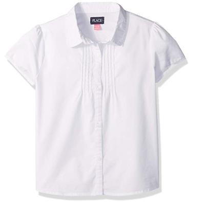 The Childrens Place Big Girls Short Sleeve Uniform Polo
