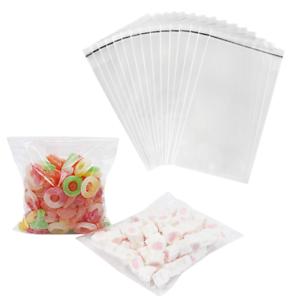 "Bags Transparent Cellophane Self Adhesive 3.5/""x8/"" OPP Resealable Cello 100-PCS"