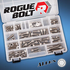 SMALL BLOCK CHEVY SBC STAINLESS STEEL ENGINE BOLT KIT SET 283 305 327 350 400 SB