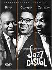 Jazz Casual: DVD Vol. 1 Basie/Gillespie/ Coltrane (DVD, 2000)