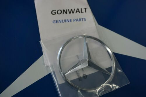 1648170016 Mercedes Benz OE Factory Rear Trunk Hatch Door Chrome Emblem Star GL