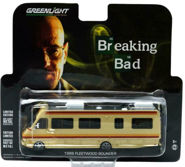 BREAKING BAD 1986-86 1//43 GREENLIGHT COLLECTIBLES FLEETWOOD BOUNDER RV