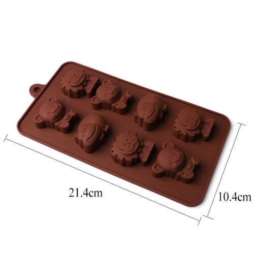 3D Silicone Chocolate Mould  DIY Candy Cake Cookie Mold Decor Baking Mold Tool