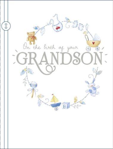 Sur la naissance de votre petit-fils-Carte de vœux