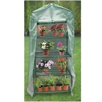 Quality 4 Tier Mini 63 Portable Greenhouse W/ Shelves Plants Green House