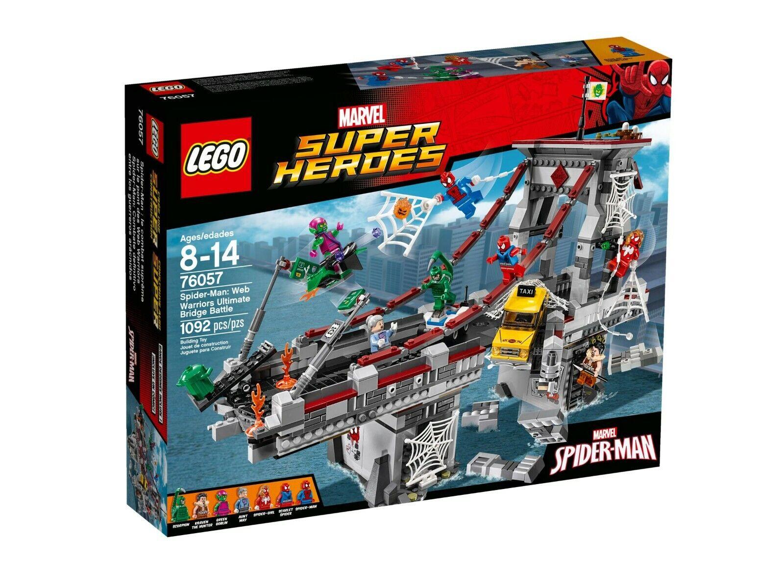 a prezzi accessibili LEGO ® MARVEL SUPER HEROES HEROES HEROES 76057 Spider-uomo gratificati ponti duello Nuovo Scatola Originale  alla moda