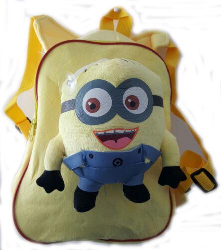 Kids Character Disney Soft Plush Rucksack Backpack School Nursery Bags Bag 3D