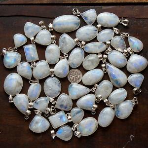 Moonstone Gemstone Pendant Silver Overlay Pendants Handmade pendant TP-11