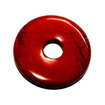 Jaspis Rot 1 Donut Ca.50 Mm``mineralien Stein Schmuck Deko Fossilien Schön Die Nieren NäHren Und Rheuma Lindern