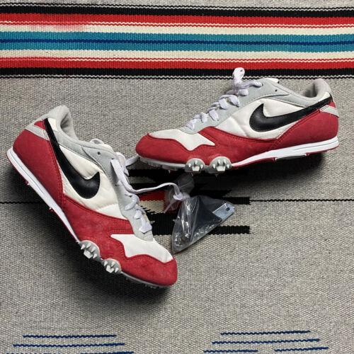 Vintage 90s Nike Zoom V Track Spike Shoes Mens Si… - image 1