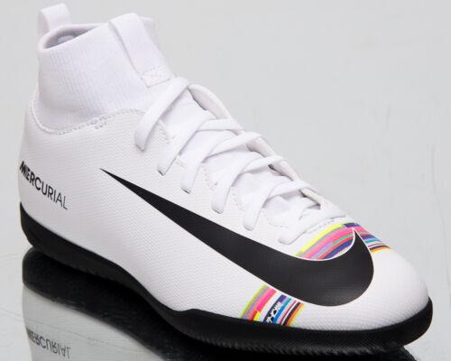 Superfly 6 Club IC Older Kids White Soccer Football Shoes AJ3087-109 Nike Jr