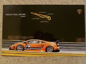 2011 Lamborghini Gallardo Lp 570 4 Super Trofeo Picture Poster