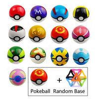 7-10cm Pokemon Pokeball Pop-up ABS Master Ultra GS GO BALL&Tripod Toys Gift Xmas