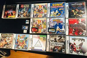 Jeux Nintendo DS + GBA lot