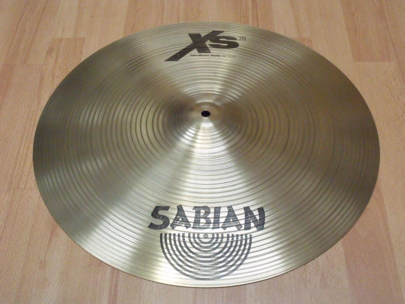 Sabian XS20 Ride-Becken 20    Cymbal   Sehr guter Zustand