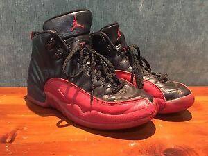 Nike Air Jordan 12 Flu Game Bred Og 1996 153265 061 Size 5y Ebay