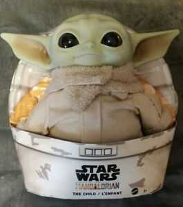 Star-Wars-Mandalorian-The-Child-11-034-Plush-Baby-Yoda-Doll-FREE-PRIORITY-SHIPPING