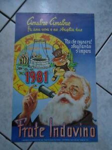 Calendario Frate Indovino Ebay.Dettagli Su Calendario Frate Indovino 1981 Cimabue Cimabue