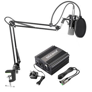 Neewer-NW-700-Condenser-Microphone-Kit-with-Black-Mic-Arm-Stand-and-Pop-Filter