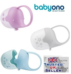 Baby-Soother-Travel-Box-Elephant-Pod-Holder-Great-storage-for-Pacifier-teat-New