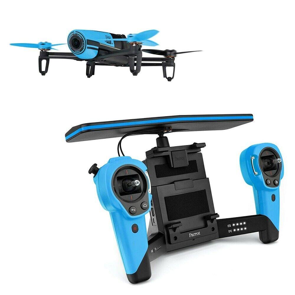 buona qualità Parrosso Drone Bebop Quadcopter cielocontroller Bundle blu PF725141 Fast Shipping Shipping Shipping  economico e alla moda
