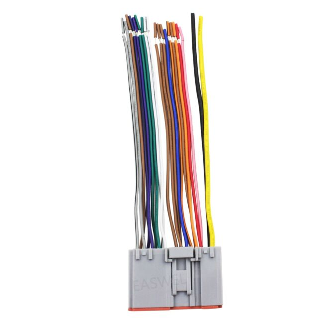 Stock Factory Radio Stereo Reverse Dash Male Wire Wiring