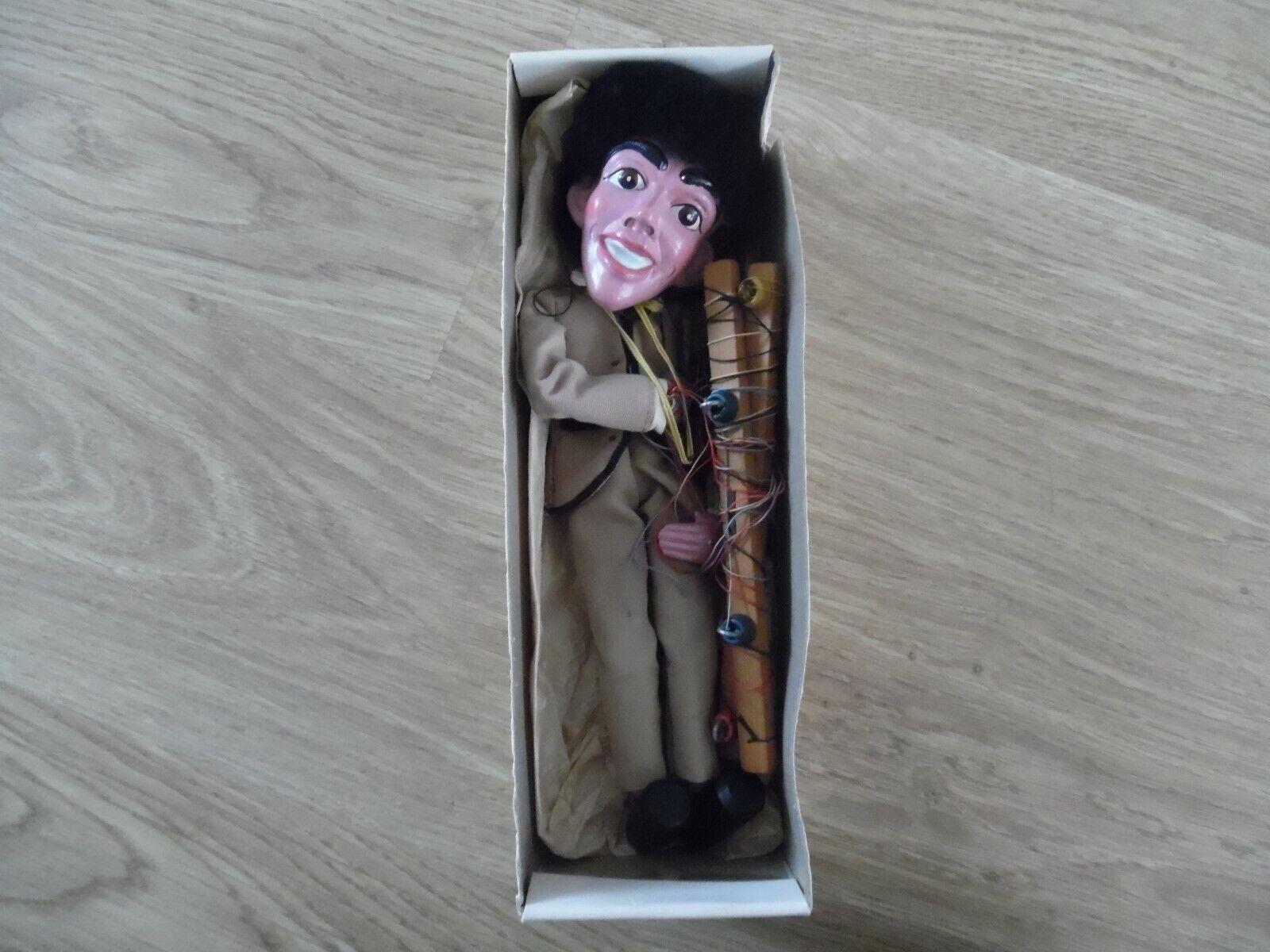 RARE VINTAGE PELHAM PUPPET NO.2 POP SINGER - BEATLES - HAND MADE - BOXED