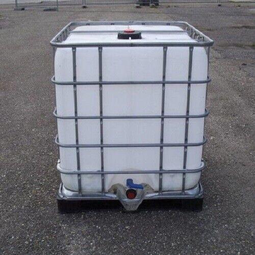 IBC Tank Regenwassertank Ballasttank 1000L 2.Wahl auf Stahl//PE-Palette