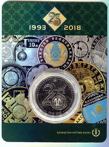 100 Tenge 2018 UNC 25 YEARS OF TENGE in Blister Kazakhstan//Kazakhstan