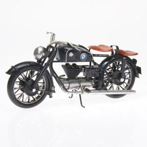 28cm Bmw Motorrad Blech Modell Bike Chopper Cruiser Biker Metall Herrengeschenk Gute QualitäT