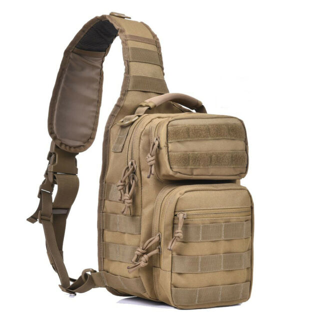 Kylebooker Tactical Sling Bag Military Small Pack Shoulder Range Backpack