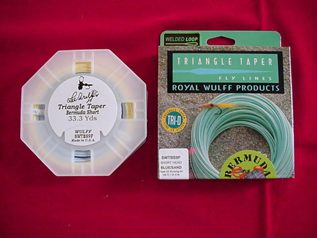 Royal Wulff Fly Line Bermuda Triangle Taper Short Line GREAT NEW